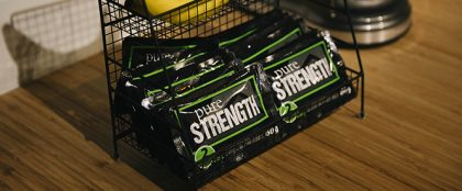 Strength Bar on Shelf